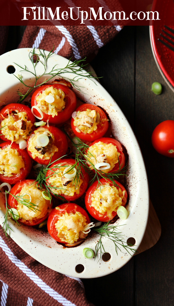 Healthy Baked Stuffed Tomatoes